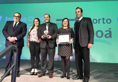 Porto Itapoá conquista mais um Prêmio Empresa Cidadã da ADVB/SC