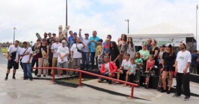 Guaratuba inaugura pista de skate